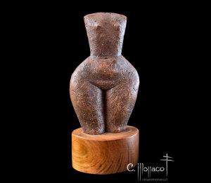 Bozzetto - terracotta patinata cm 42x20x11