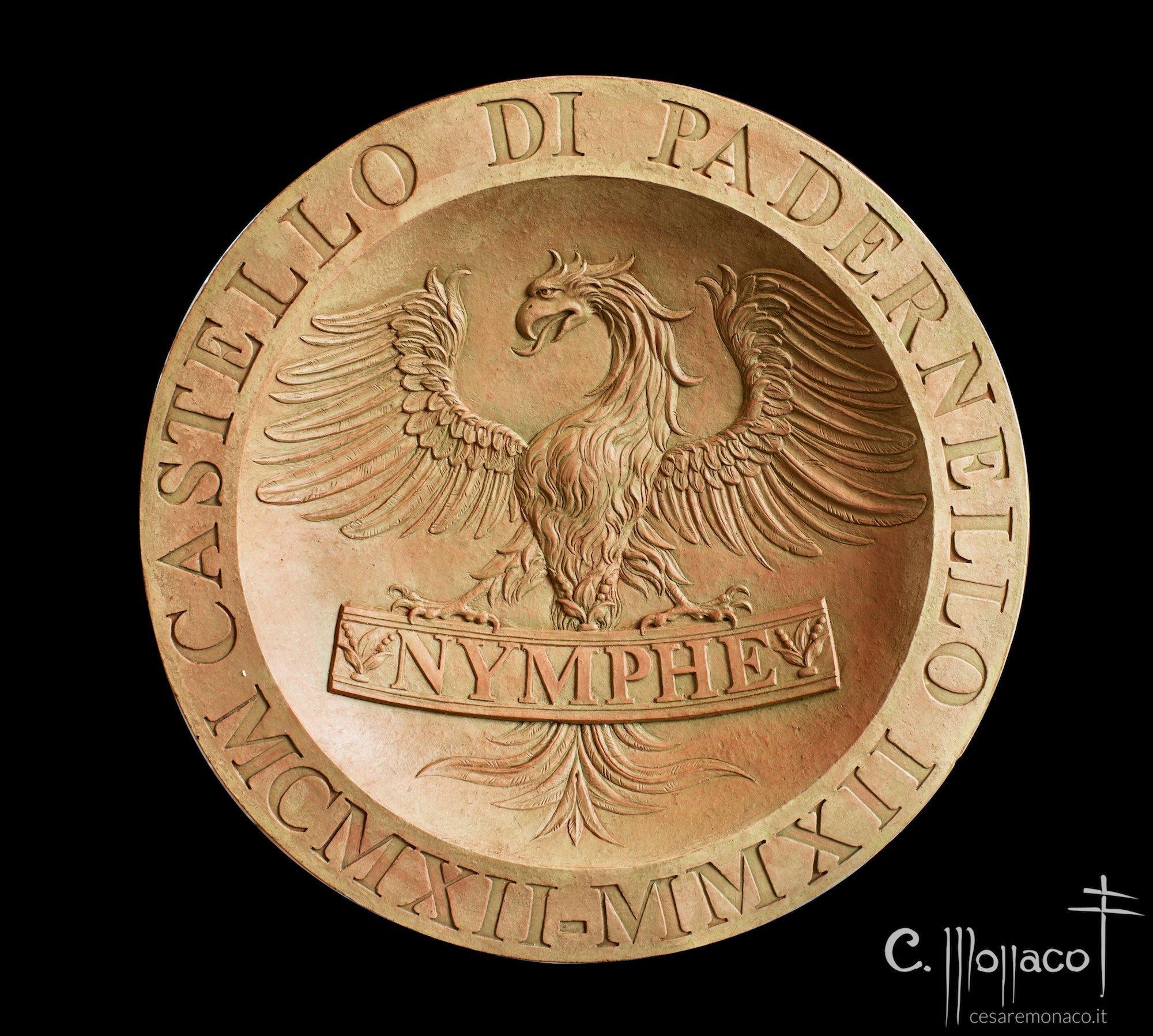Medaglia-recto-Aquila ad ali spiegate